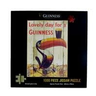 Guinness Official Jigsaw 1000 Pieces Vintage Toucan Ad Poster Design 5598